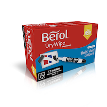 Berol® Dry Wipe Marker  medium