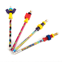 Pencil Fidget Toppers 4pk  medium