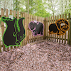 Jungle Themed Chalkboards Assorted 5pk  small