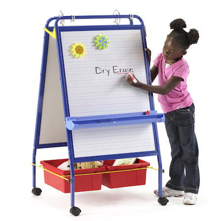 Early Years Mobile Foldable Whiteboard  large