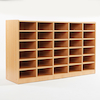 Open Storage Unit with 30 Small Compartments  small