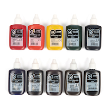 Marbling Ink Assorted Set 25ml 10pk  medium