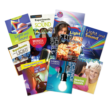 Light and Sound Book Pack  large