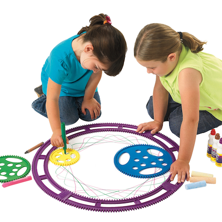 Giant Outdoor Playground Spirograph  large