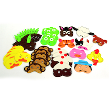 Counting Rhymes Foam Mask Set 39pcs  medium