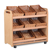 Playscapes Tilt Tote Storage Trolley 9 Tubs  small