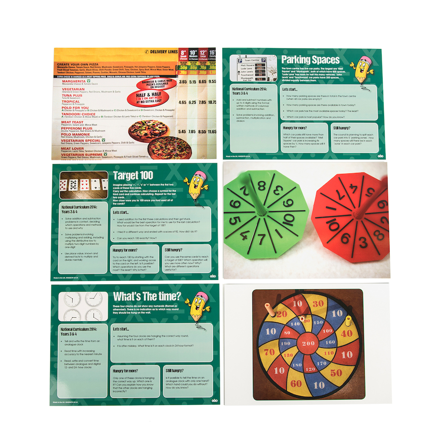 Buy Real World Maths Activity Cards | TTS