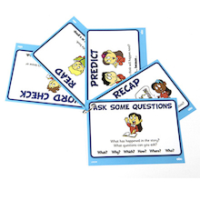 Reader Leader Comprehension and Discussion Cards  medium