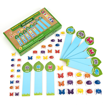 Magnet Maths Learning Rods  large
