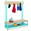 Bubblegum Cloakroom Benches  small