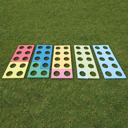 Giant Outdoor Number Frames Silicone 10pk  large