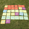 Large Outdoor Number Tiles 0\-31  small