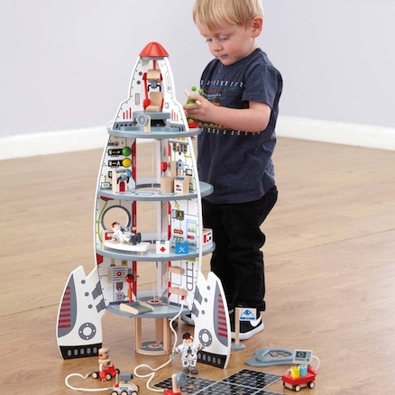 Small World Spaceship Rocket Playset  large