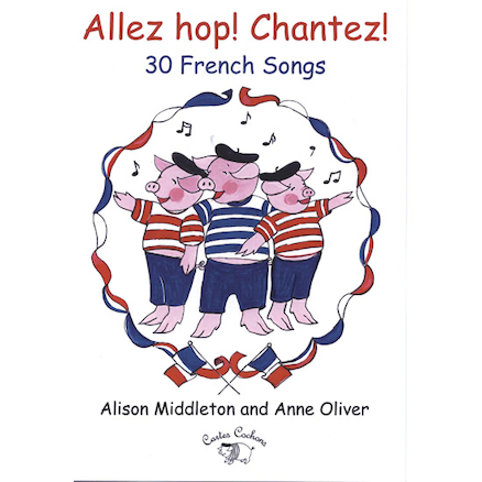 Allez Hop! Cantez! French Singing Book and CD  large