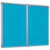 Accents Lockable Noticeboard  small