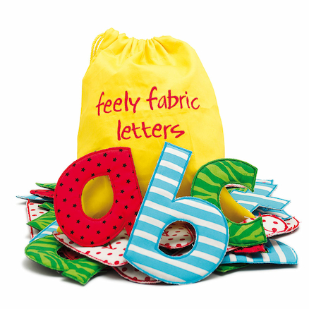 Fabric Patterned Alphabet Letters 26pk  large