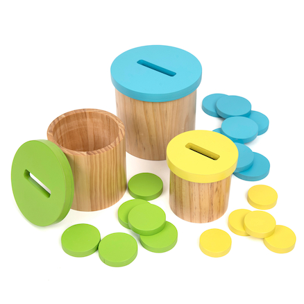Colour Matching Posting Pots  large