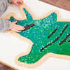 Mark Making Sequin Giant Dinosaurs  small