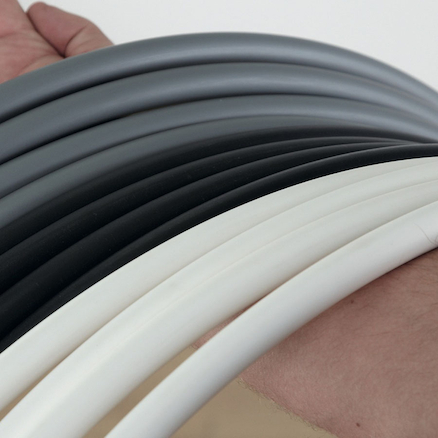 Black, Silver and White Hula Hoops 75cm 12pk  large