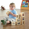Wooden Bead Blocks 8pk  small