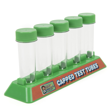 Capped Test Tubes 5pk  large