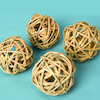 Natural Willow Balls 4pk  small