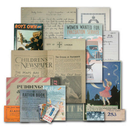WW2 Child Of War Memorabilia Pack  large