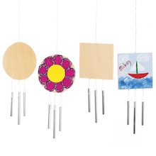Wooden Wind Chimes 12pk  medium