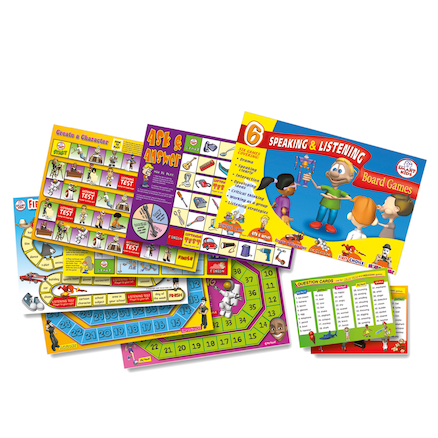 Speaking \x26 Listening Board Games  large