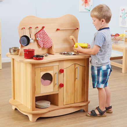 Role Play Double Sided Kitchen Unit  large