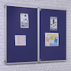 FlameShield Framed Lockable Noticeboards  small
