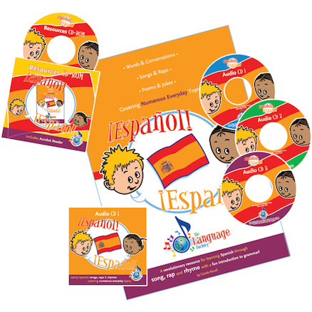 Español! Español Spanish Songs Audio CD Pack  large