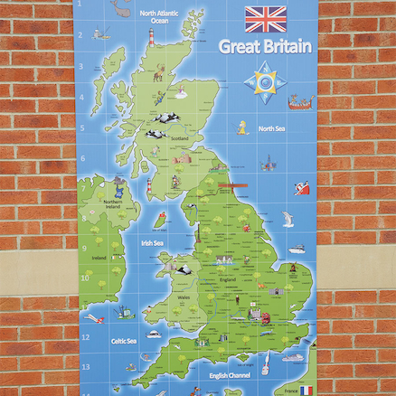 Outdoor UK Signboard L2.1m x W1.2m  large