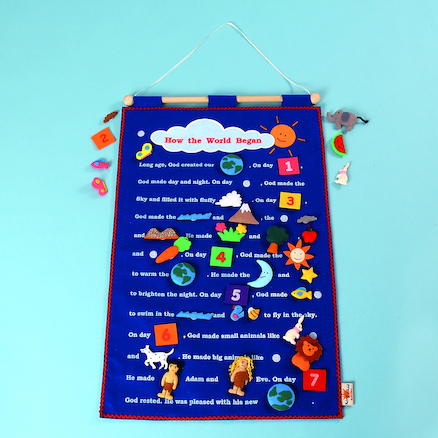 Creation Story Wall Hanging  large