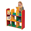 Modular Corner Bookcase Unit Multicoloured  small