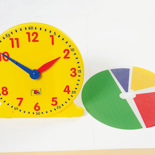 TTS Colourful Classroom Clock  medium