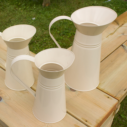 Cream Jug Set 3pcs  large