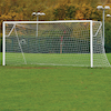 Steel Socketed Football Goals \- Pair  small