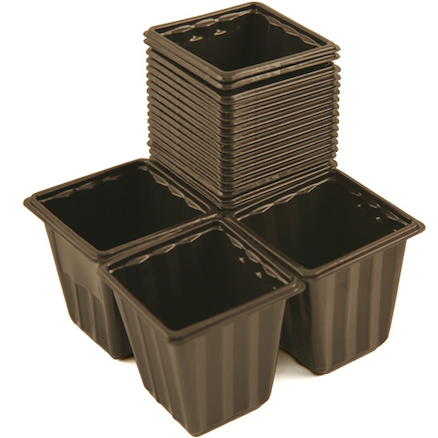 Pricking Out Plant Pots 18pk  large