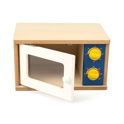 Wooden Role Play Microwave  large