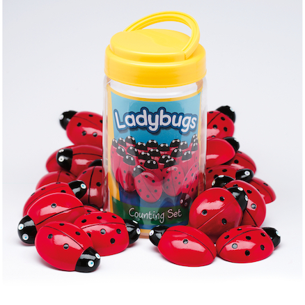 Ladybird Counters and Cards  large
