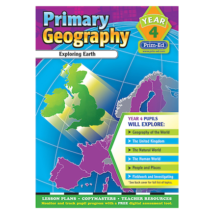Primary Geography Teacher\'s Books Year 4  large