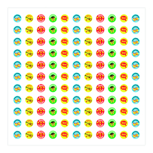 Spanish Mini Reward Stickers 605pk  medium