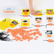 Phonics Threading Beads CVC Set  medium