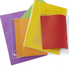 Slip On Clear Exercise Book Covers 100pk  small