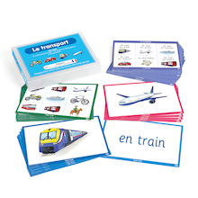 French Vocabulary Builders - Transport  medium