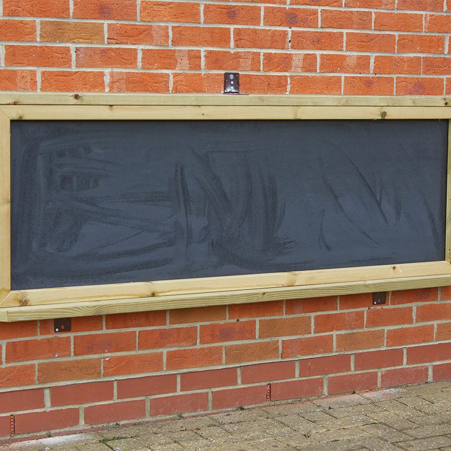 Lovely ... Wall Mounted Chalkboard In Wooden Frame Small