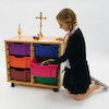 Religious Artefacts Storage Trolley  small
