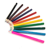 TTS Jumbo Hexagonal Colouring Pencils Assorted  small