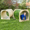 Outdoor Wooden Tunnels  small